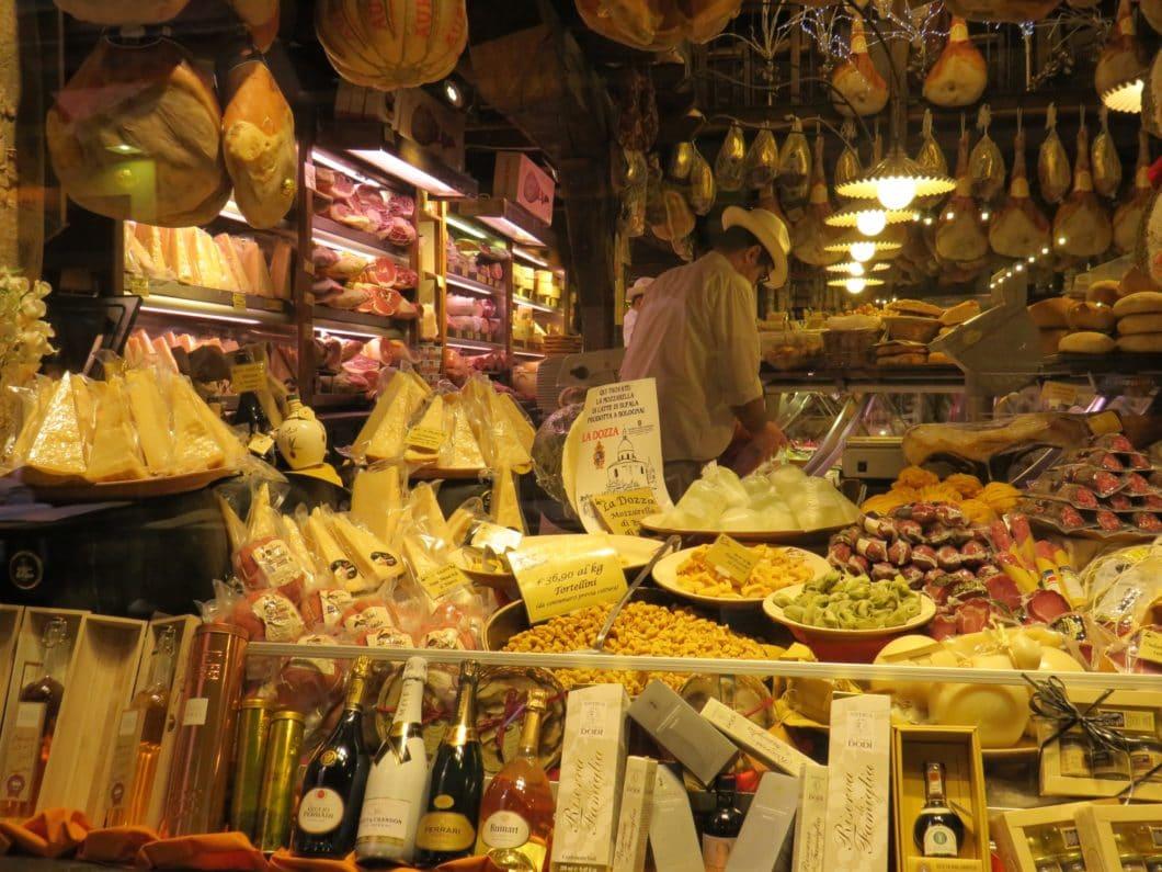 Bologna - Delikatessengeschäft