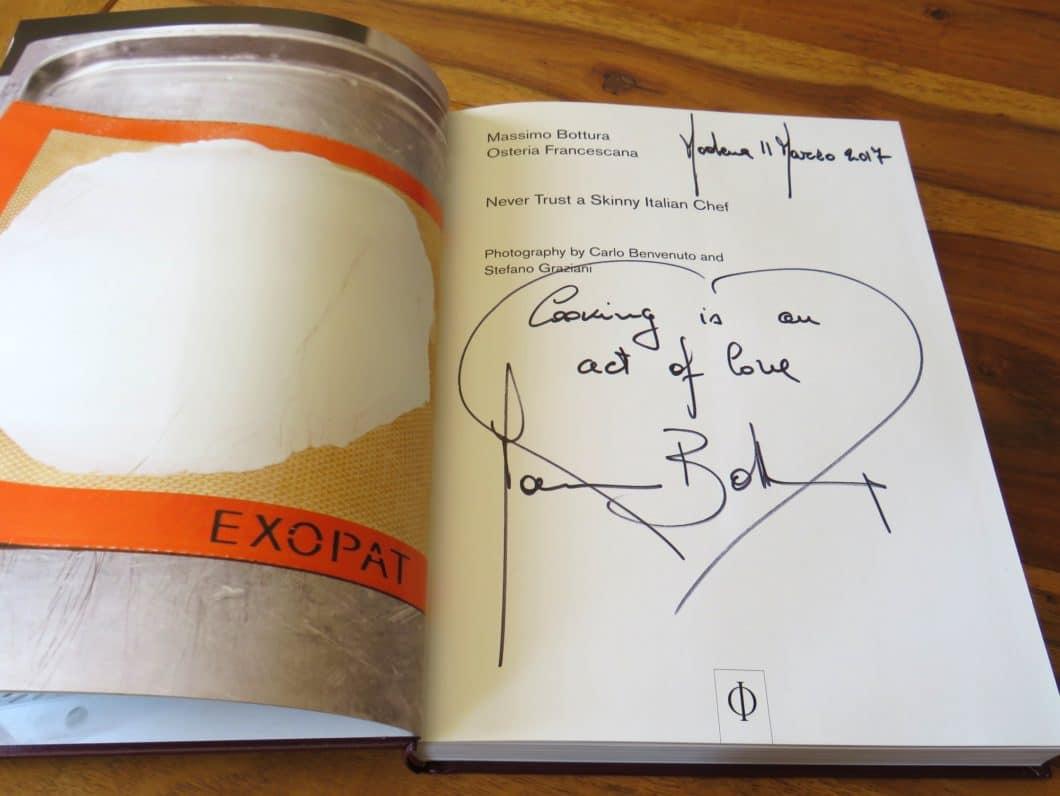 Massimo Bottura Never trust a skinny Italian chef