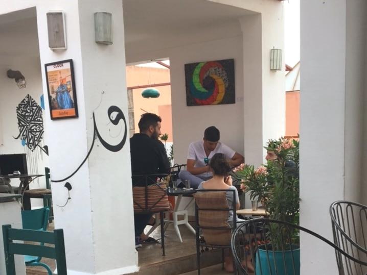 Cafe Clock Marrakesch