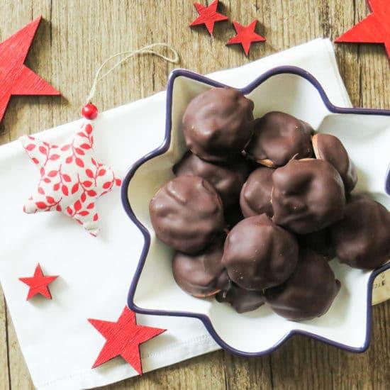 Schokoladen-Powidl-Lebkuchen