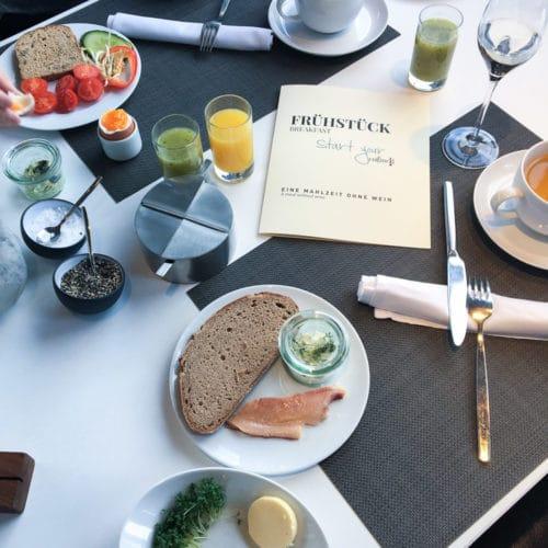Loisium Langenlois Frühstück