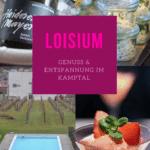 Loisium Langenois - ein Wochenende voller Genuss und Entspannung im Kamptal in Österreich