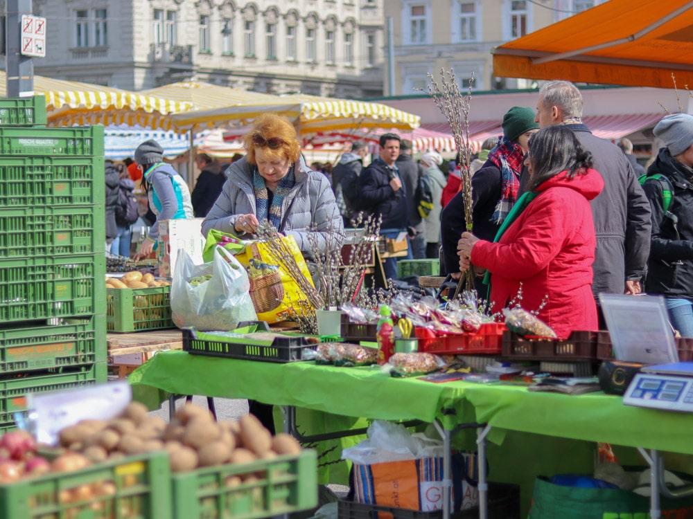 Karmelitermarkt Wien Bauernmarkt