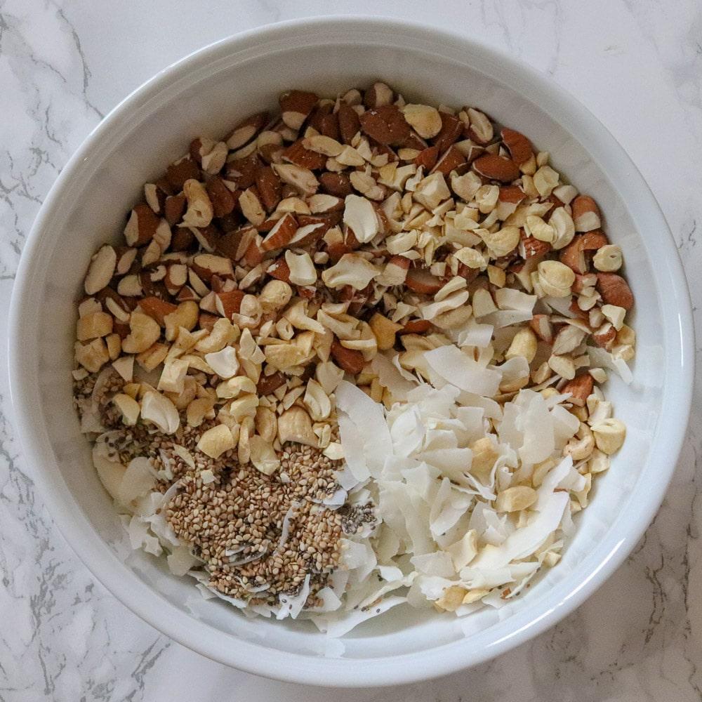 Schoko-Kokos-Granola
