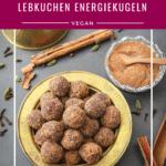Lebkuchen Energiekugeln vegan