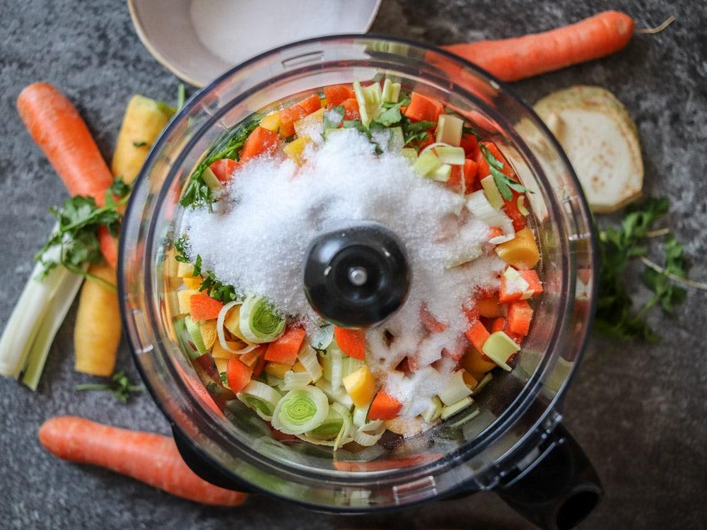 Selbstgemachte Suppenwürze - Suppenwürfel ade!