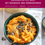 Süßkartoffelpüree mit Rosmarin